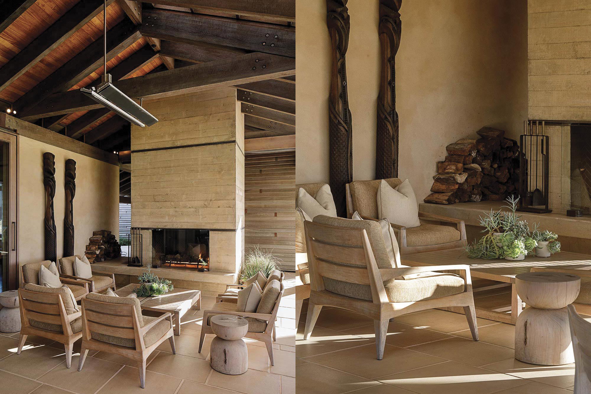 Tara Iti Clubhouse Herringbone Design